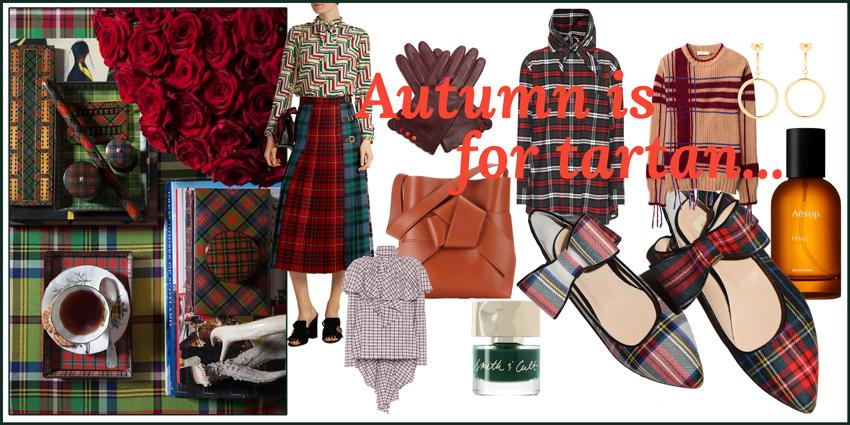 Headerbild Autumn is for Tartan