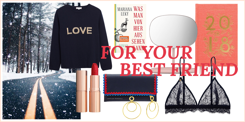 Christmas gift guide for your best friend Headerbild