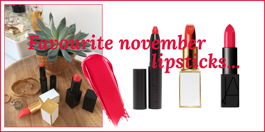 Favourite November Lipsticks Headerbild