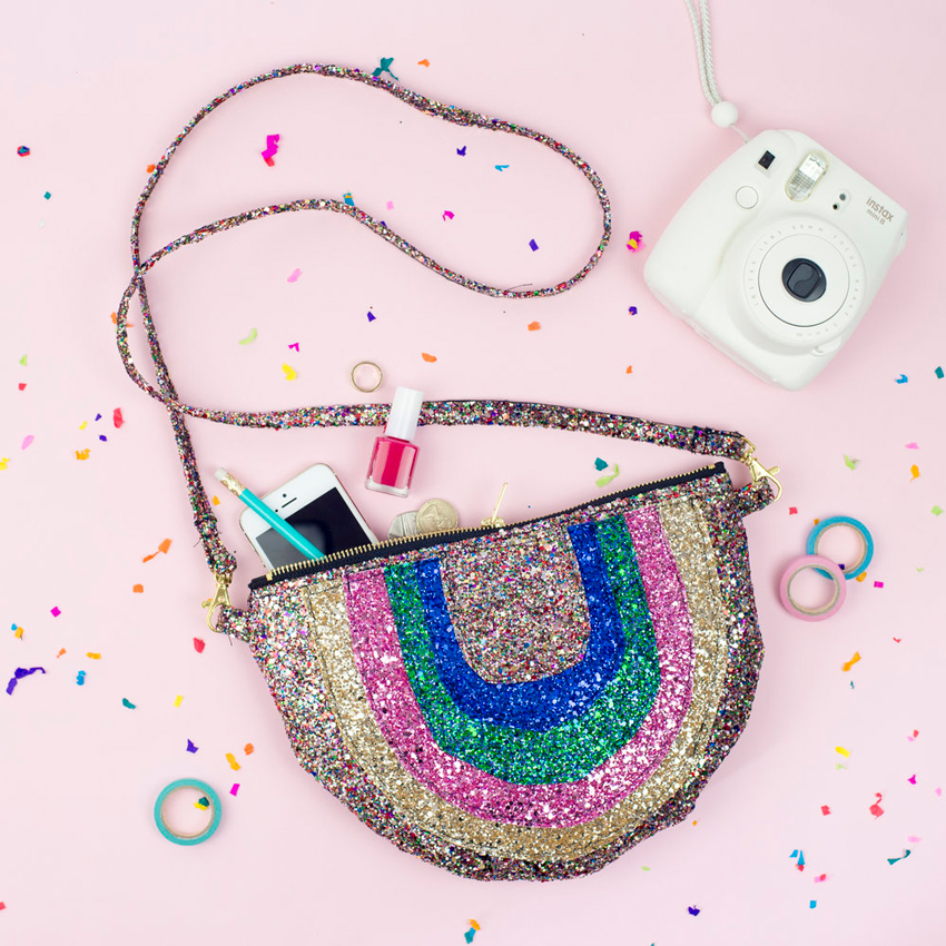 Lust week #45 Puptart Rainbow Tasche