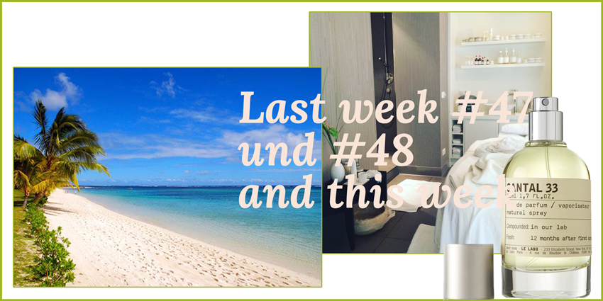 Last week #47 und #48 and this week Headerbild