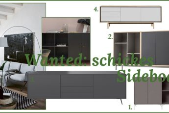 Wanted schickes Sideboard Headerbild