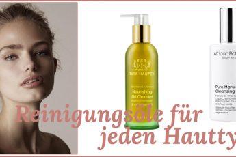 Reinigungsöl für jeden Hauttyp Headerbild