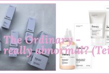 The Ordinary – really abnormal? (Teil 1)