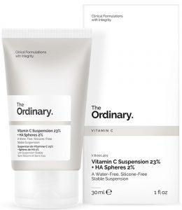 The Ordinary – really abnormal? Vitamin C Suspension 23% + HA Spheres 2%