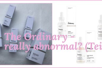 The Ordinary - really abnormal? (Teil 2)