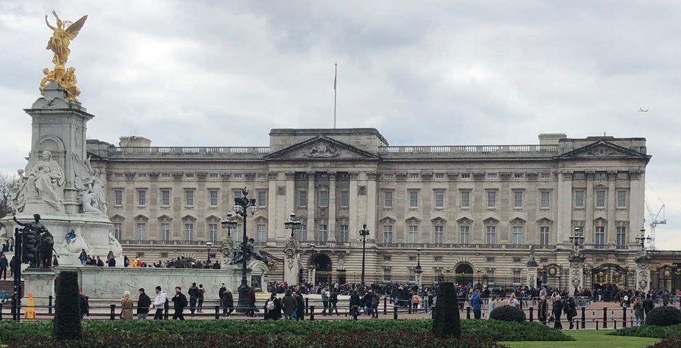What happend April 2018 Buckingham Palace