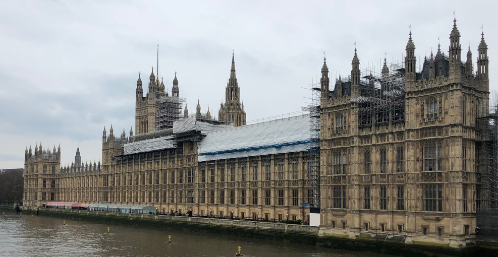 What happend April 2018 Houses of Parliament