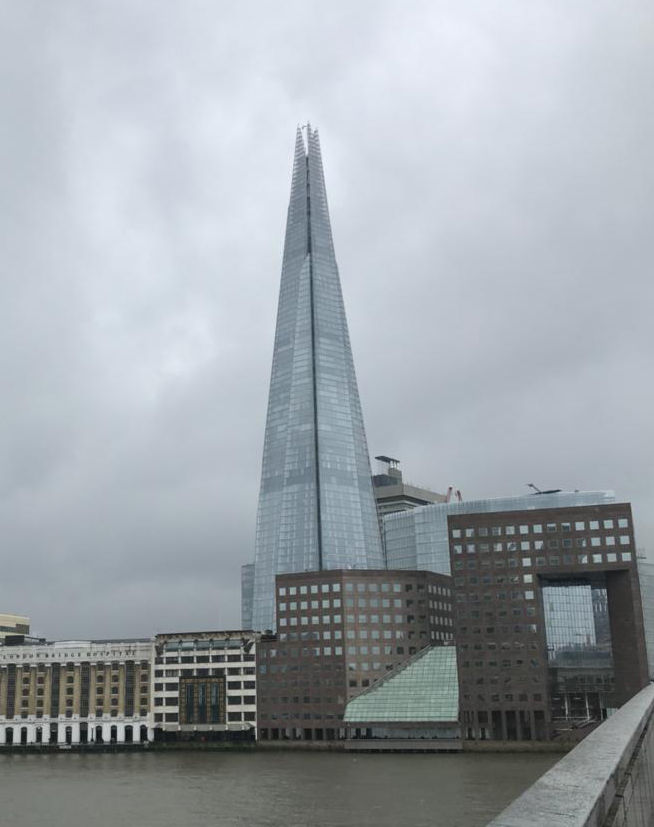 What happend April 2018 The Shard