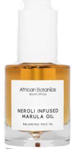 New in Beauty Neroli Infused Marula Oil African Botanics
