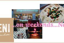 …on weekends…Neni