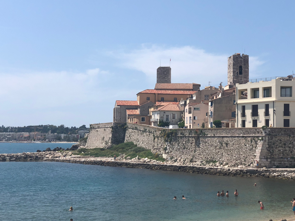 Summer in France Antibes