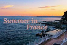 Summer in France…