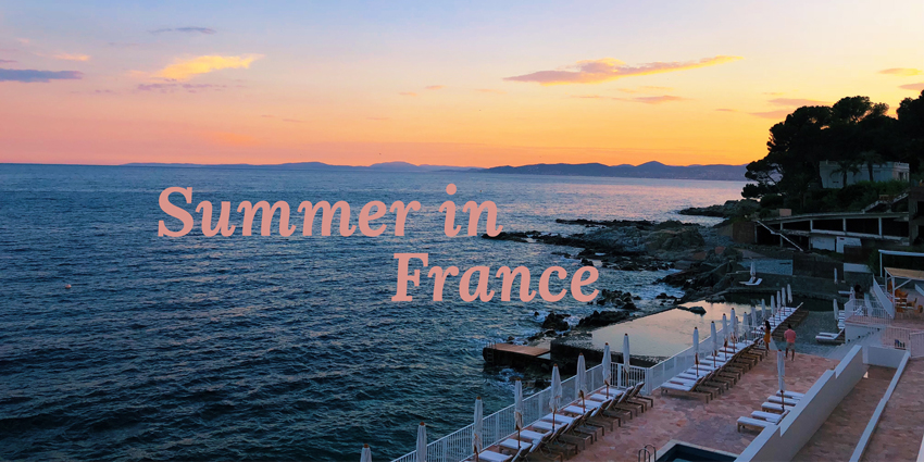 Summer in France Headerbild