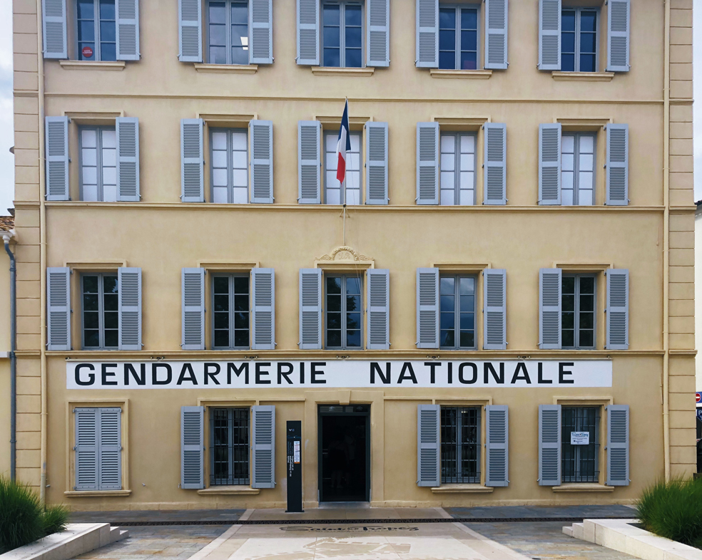 Summer in France Gendarmerie Nationale Saint Tropez
