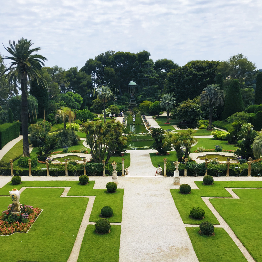 Summer in France Garten Villa Ephrussi de Rothschild