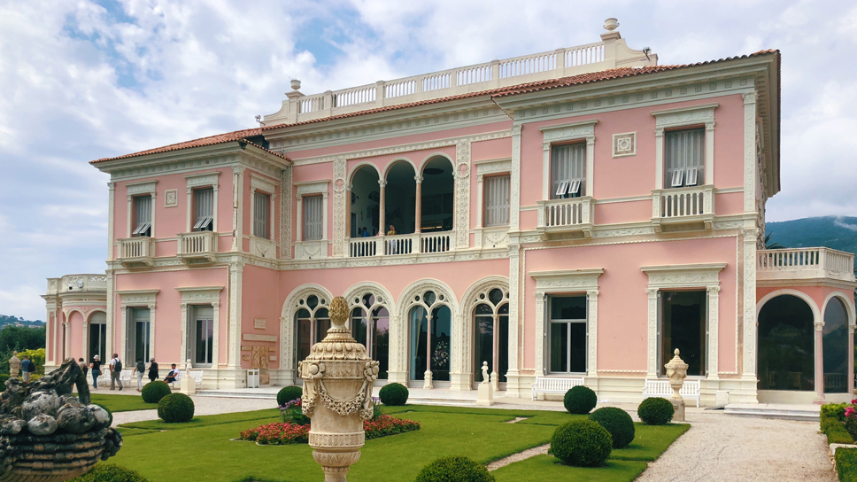 Summer in France Villa Ephrussi de Rothschild