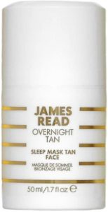 New in Beauty Sleep Tan Mask Face James Read