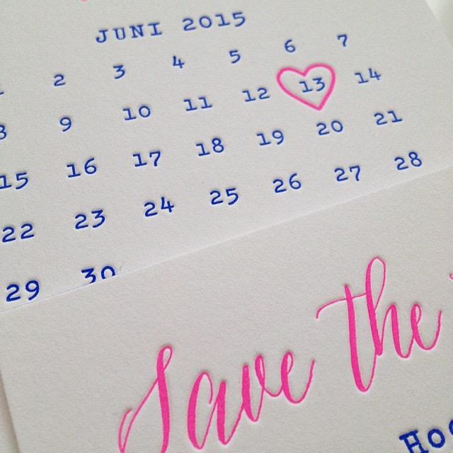 Warum Egoismus auch manchmal gut ist Save the Date Karte