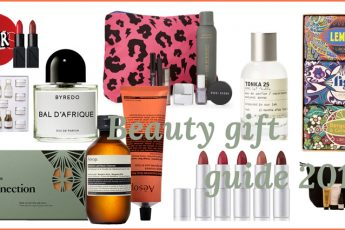 Beauty gift guide 2018 Headerbild