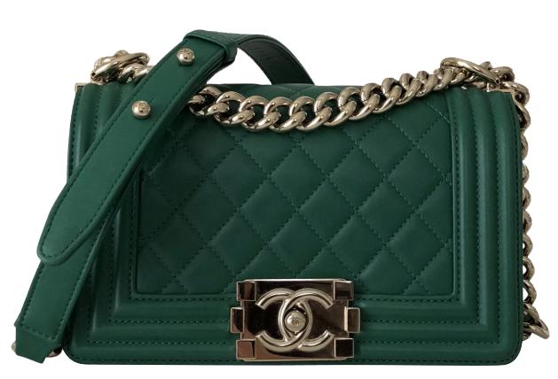 Birthday Wishlist Chanel Boy Bag grün