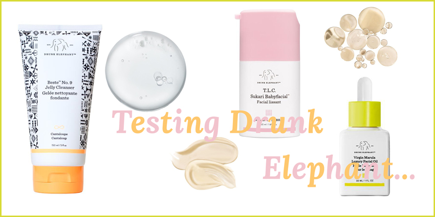 Testing Drunk Elephant Headerbild