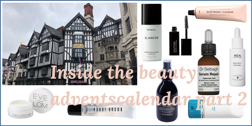 Inside the beauty adventscalendar from Liberty London part 2 Headerbild