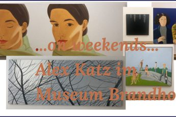 ...on weekends...Alex Katz im Museum Brandhorst Headerbild