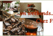 …on weekends…Chez Fritz