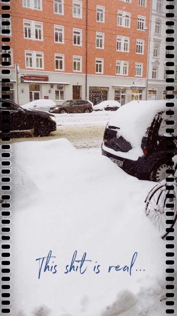 What happend January 2019 Schnee
