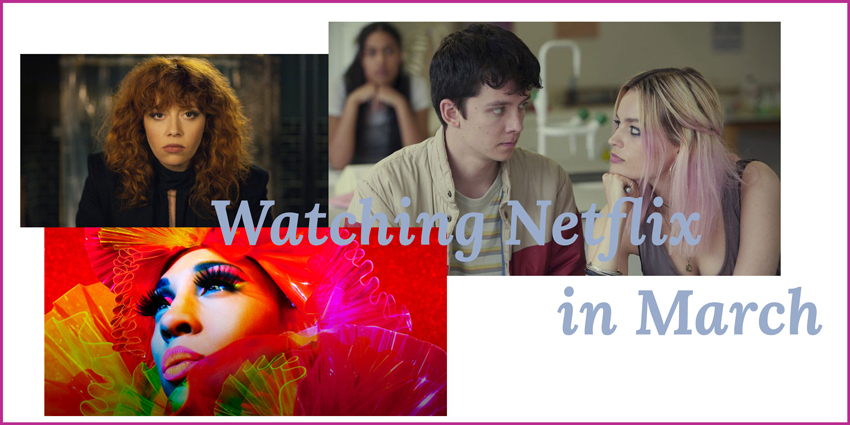 Watching Netflix in march Headerbild